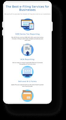 Tax screen mobile