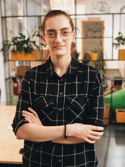 Valerie Radinovych. UppLabs Team