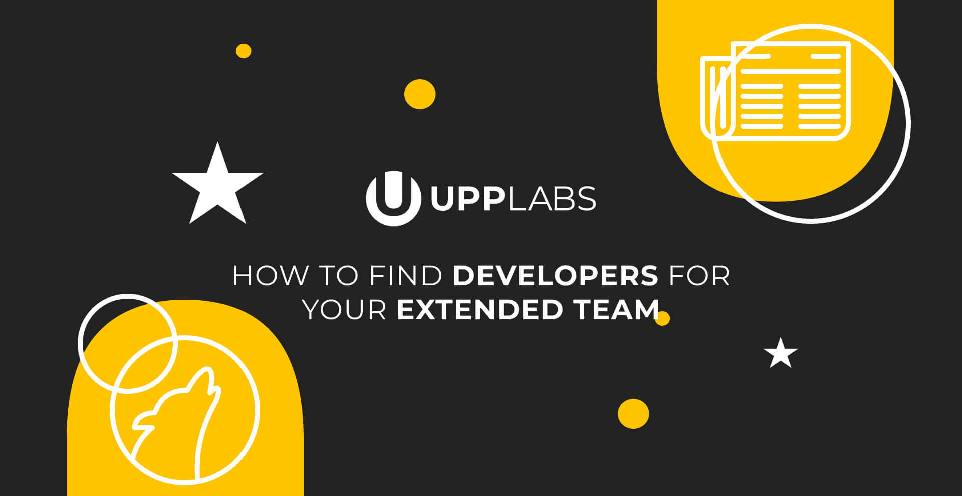 How to find developers for your extended team?