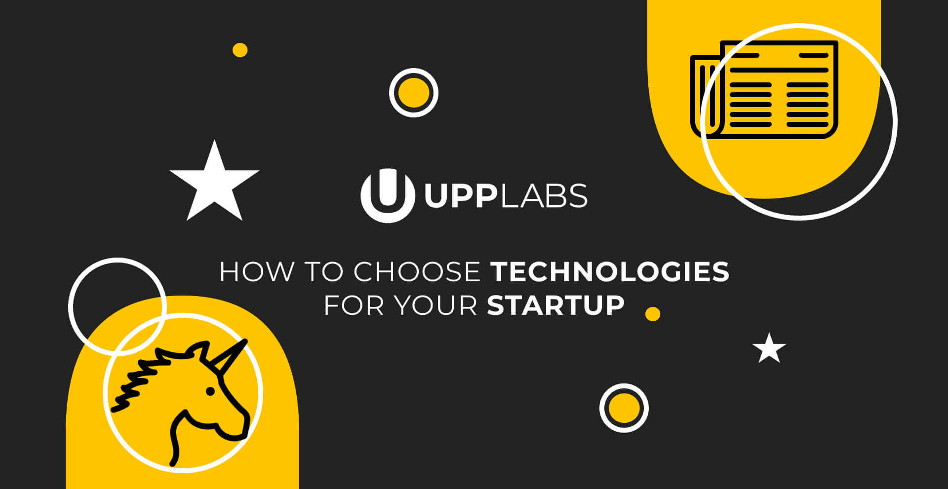 How to choose a technology stack for your startup?