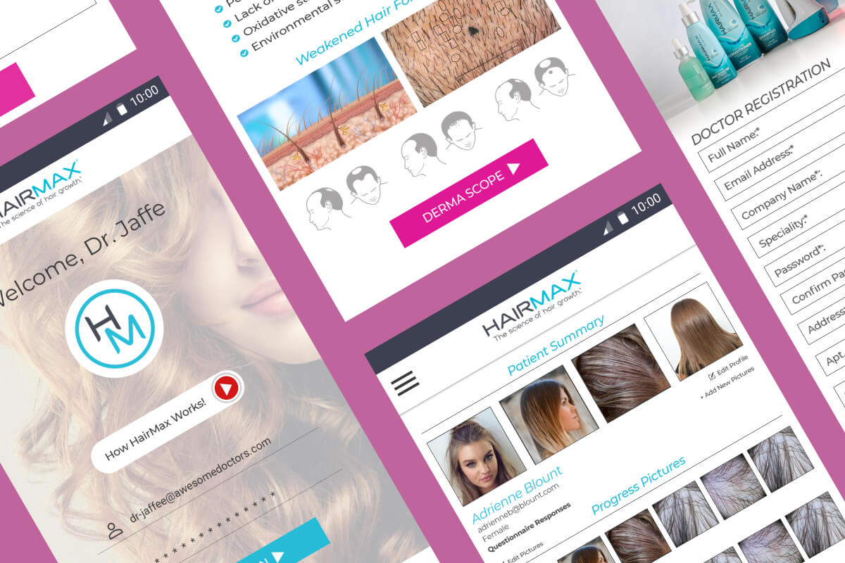 UppLabs created Healthcare app for preventing hair loss