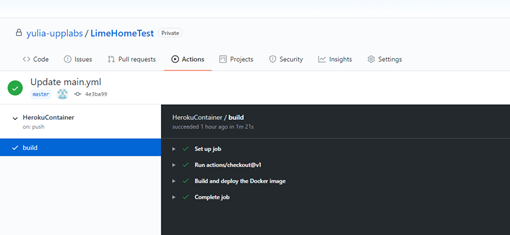 Free .net core hosting on Heroku through Docker and GitHub. Guide for startups. Build