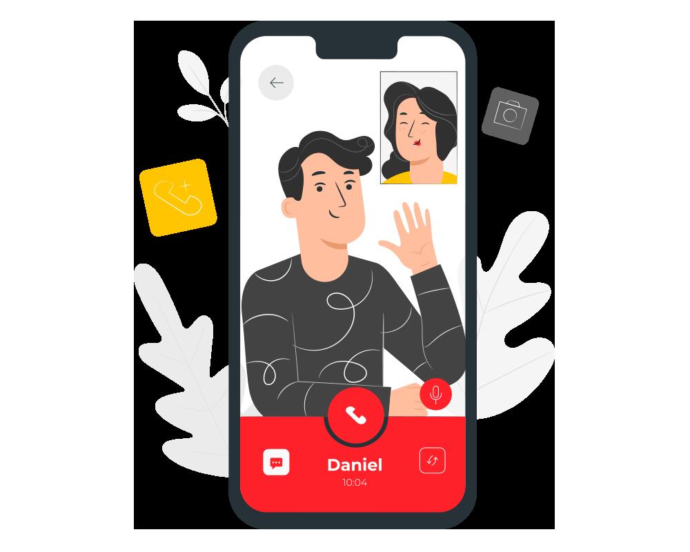 Digital Transformation. Video Chat. UppLabs