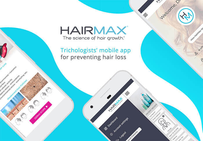 HairMax - Trichologists' mobile app for preventing hair loss