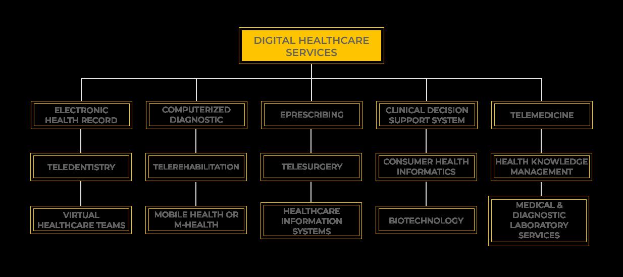 Digital healthcare services