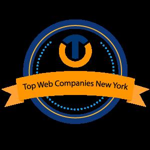 TOP Web Companies New York. UppLabs' Award
