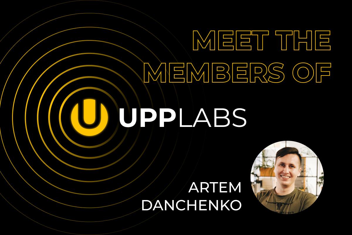 Artem Danchenko. Meet the team