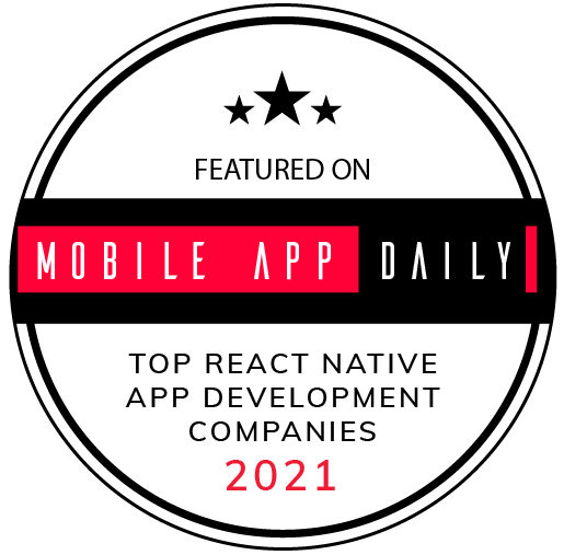 UppLabs on MobileAppDaily – Best React Native development company, Award