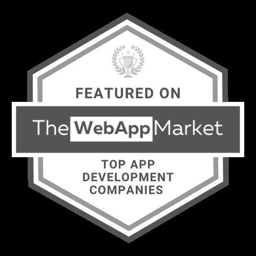 The Web App Market. UppLabs is Top App Development Company. B&W